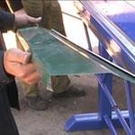 изготовление отливов, гибка металла